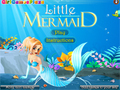 Gioco Little Mermaid Dress Up  on-line - giochi online