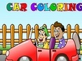 Gioco Car Coloring on-line - giochi online