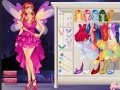 Gioco Fata Bella Dress Up on-line - giochi online