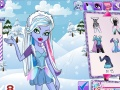 Gioco Monster High Winter Dress Up Abby  on-line - giochi online