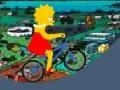 Gioco Lisa Simpson biciclette  on-line - giochi online