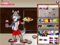 Gioco Lupo Dress Up on-line - giochi online