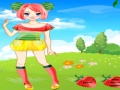 Gioco Carino frutta Doll Dress Up on-line - giochi online