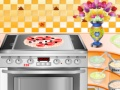 Gioco Cook Delicious Pizza on-line - giochi online