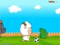 Gioco Lazy Goat and Big Big Wolf Soccer War on-line - giochi online