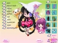 Gioco Anime Witch Dressup on-line - giochi online