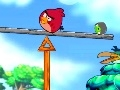 Gioco Angry Birds: mantenere l'equilibrio  on-line - giochi online