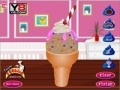 Gioco Chocolate Ice Cream Decoration on-line - giochi online