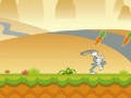 Gioco Hopping Carrot Hunt di Bugs Bunny on-line - giochi online