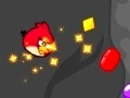 Gioco Angry Birds raccogliere le gemme delle caverne  on-line - giochi online