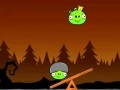 Gioco Angry Birds equilibrio porcellini  on-line - giochi online