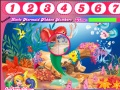 Gioco The Little Mermaid Hidden Numbers on-line - giochi online