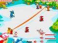 Gioco Snowball fight con i mostri  on-line - giochi online