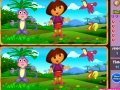 Gioco Spot the Difference - Dasha e Slipper  on-line - giochi online