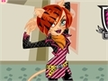 Gioco Dress Toleray Stripe Monster High  on-line - giochi online