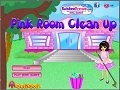 Gioco Pink Room Clean Up on-line - giochi online