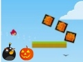 Gioco Angry Birds: scatole di Halloween  on-line - giochi online