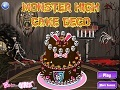 Gioco Monster High Cake  on-line - giochi online