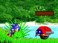 Gioco Sonic in Angel Island  on-line - giochi online
