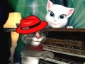 Gioco Talking Tom piano time on-line - giochi online