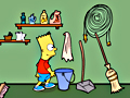 Gioco Bart Simpson Saw  on-line - giochi online